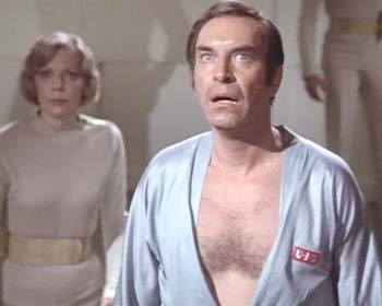 I'll bet you would always sleep easily if you had a pair of these luscious, soft, silvery space pajamas. They are so soft you could even sleep through a red alert.