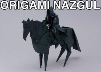 Caucasian origami is very rare and hard to find but the lack of artistry can be quite distinctive.