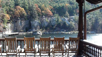 Enjoy the view and relax, my friend. Visit Mohonk in New Paltz, New York.
